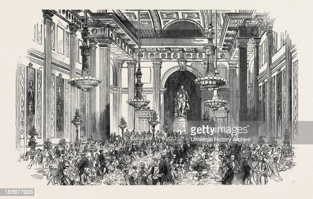 Soiree Of The Vegetarian Society, In Freemasons' Hall