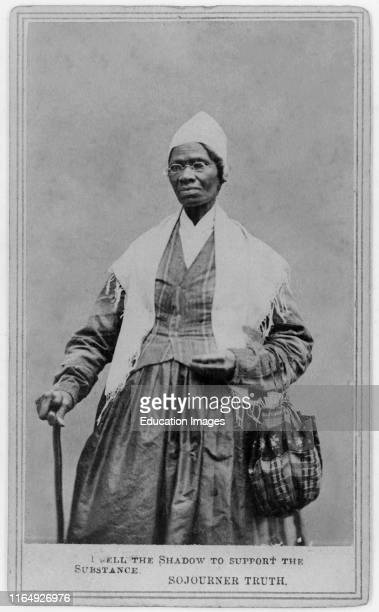Sojourner Truth 17971883 Abolitionist Freed Slave and Women's Rights Activist Portrait 1864