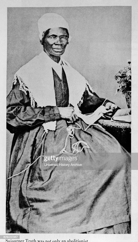 Sojourner Truth (1797-1883), Abolitionist, Freed Slave.