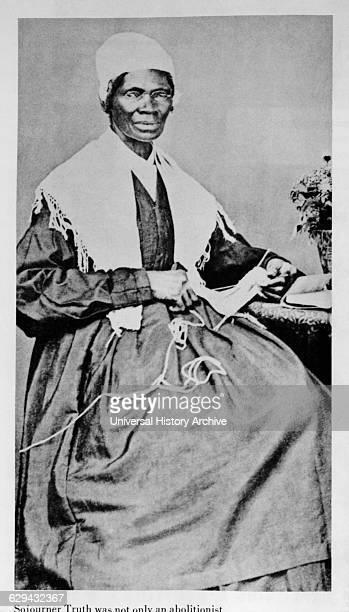 Sojourner Truth Abolitionist Freed Slave