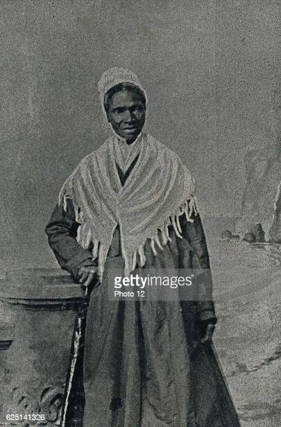 Sojourner Truth African American abolitionist and champion of women's rights circa 1865