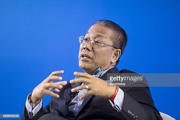 Sok Siphana managing partner at Sok Siphana Associates speaks at the Bloomberg Asean Business Summit in Bangkok Thailand on Thursday Dec 3 2015...