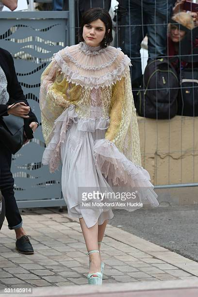 Soko arriving for The Dancer during the 69th annual Cannes Film Festival at The Palais de Festival on May 13 2016 in Cannes France