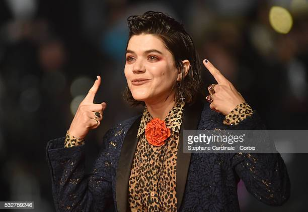 Soko attends the 'It's Only The End Of The World ' Premiere during the 69th annual Cannes Film Festival at the Palais des Festivals on May 19 2016 in...