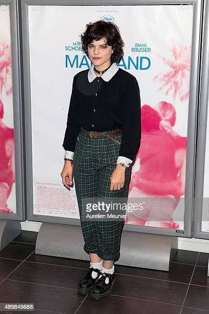 6dbea93b7e4be Soko attends the  Maryland  Paris premiere at Mk2 Bibliotheque on September  24 2015 in.