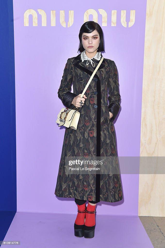 Miu Miu: Photo Call- Paris Fashion Week Womenswear Spring/Summer 2017
