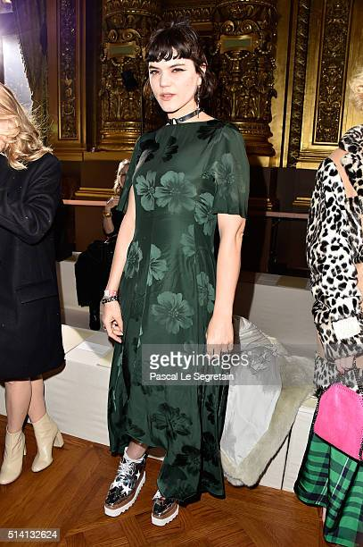 Soko attends the Stella McCartney show as part of the Paris Fashion Week Womenswear Fall/Winter 2016/2017 on March 7 2016 in Paris France