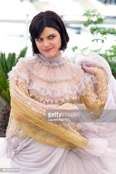Soko attends the 'The Dancer ' photocall during the 69th annual Cannes Film Festival at the Palais des Festivals on May 13 2016 in Cannes France