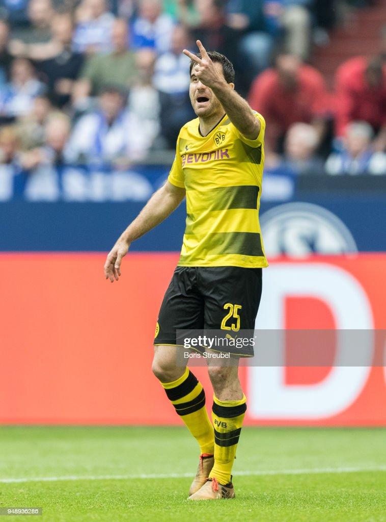 Sokrates Papastathopoulos Of Borussia Dortmund Gestures During The News Photo Getty Images