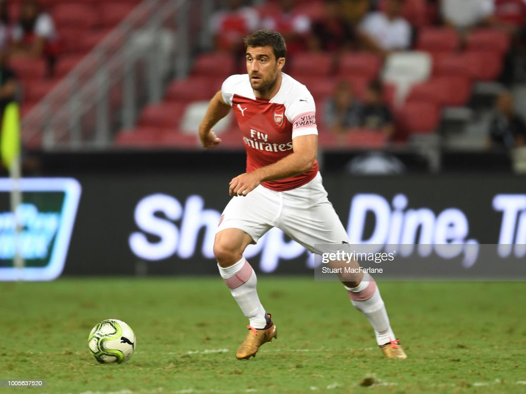Club Atletico de Madrid v Arsenal - International Champions Cup 2018 : ニュース写真
