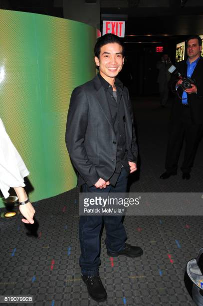 Sokvannara Sar attends DANCING ACROSS BORDERS by Anne Bass Premiere Arrivals and AfterParty at SVA Theater and Cedar Lake Studios on March 24 2010 in...