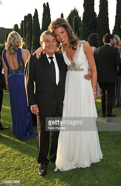 Sol and Heather Kerzner attends The 12th Annual White Tie and Tiara Ball to Benefit Elton John AIDS Foundation in Association with Chopard at...