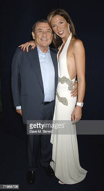 Sol and Heather Kerzner attends the fashion show and party to celebrate the launch of Emporio Armani RED collection at Earls Court on September 21...