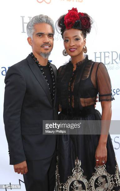 Sol Aponte and Jennia Fredrique attend the 16th Annual Heroes In The Struggle gala reception and awards presentation at 20th Century Fox on September...