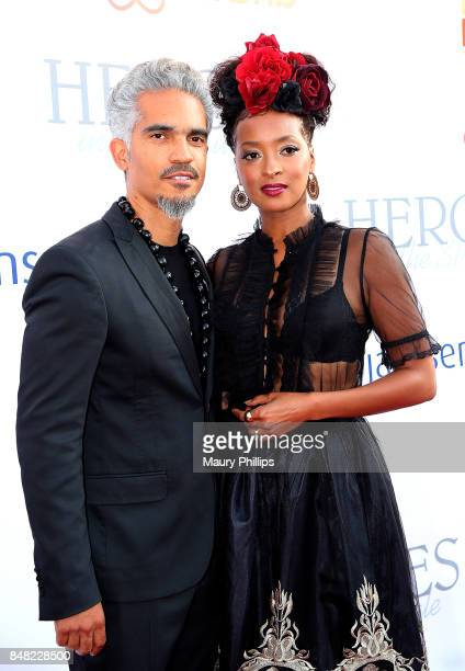 Sol Apontte and Jennia Fredrique arrive at the 16th Annual Heroes In The Struggle gala reception and awards presentation at 20th Century Fox on...