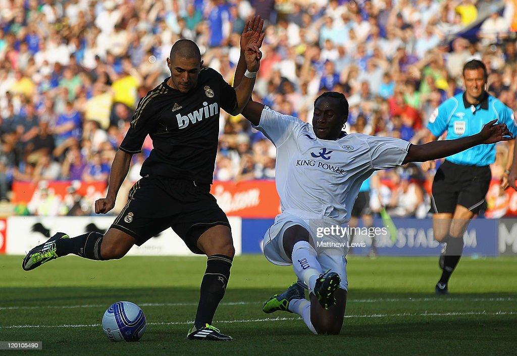 Leicester City v Real Madrid - Pre Season Friendly : News Photo
