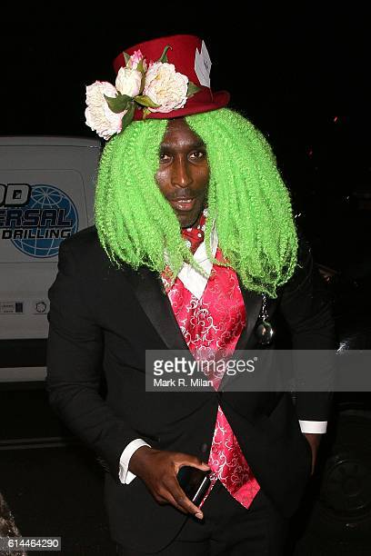 Sol Campbell arriving the UNICEF Halloween Ball on October 13 2016 in London England