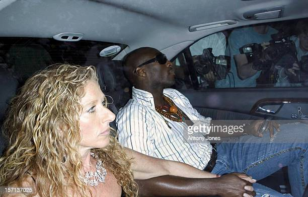 Sol Campbell Kelly Hoppen Attend The White Tie Tiara Ball Hosted By Elton John At His Home In Old Windsor Berkshire