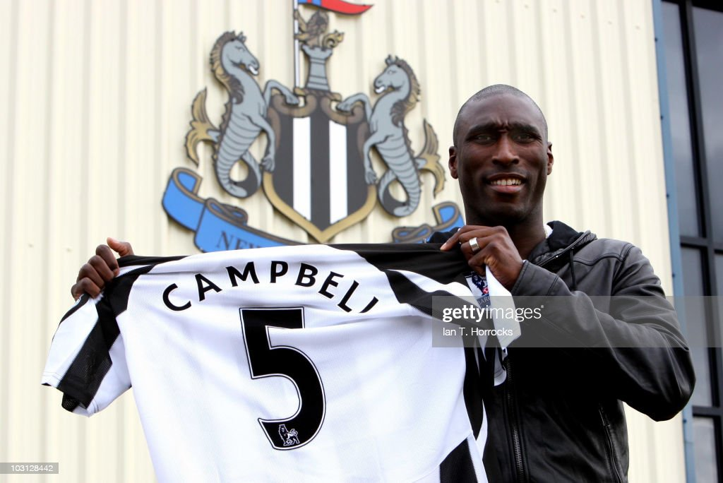 Sol Campbell Signs For Newcastle United