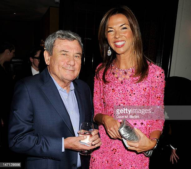 Sol Kerzner and Heather Kerzner attend as Richard Caring and Sir Philip Green host Johnny Gold's 80th Birthday at 34 Grosvenor Square on June 25 2012...