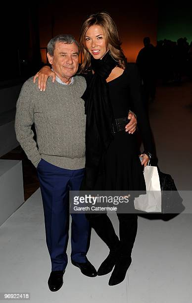 Sol Kerzner and Heather Kerzner attend the Matthew Williamson fashion show during London Fashion Week on February 21 2010 in London England