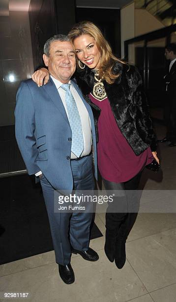 Sol Kerzner and Heather Kerzner attends the London Evening Standard Influentials Party at Burberry on November 10 2009 in London England