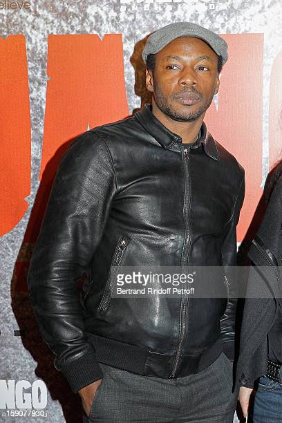 Solaar attends a photocall for 'Django Unchained' at Le Grand Rex on January 7 2013 in Paris France