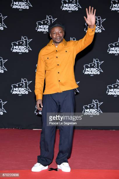 Solaar attends the 19th NRJ Music Awards on November 4 2017 in Cannes France