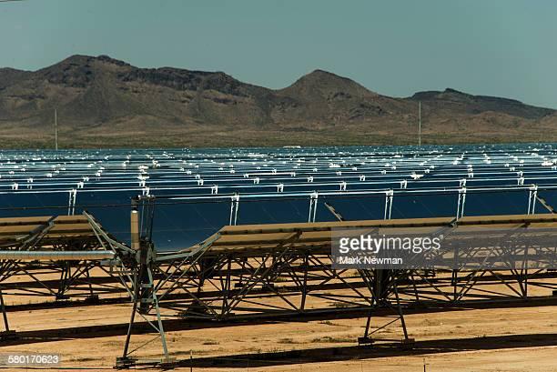 Solana Solar Site panels