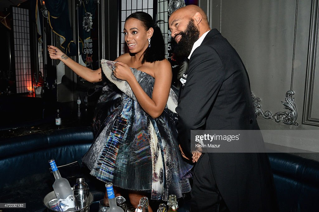 Rihanna's Private Met Gala After Party At Up & Down Presented By D'USSE : News Photo