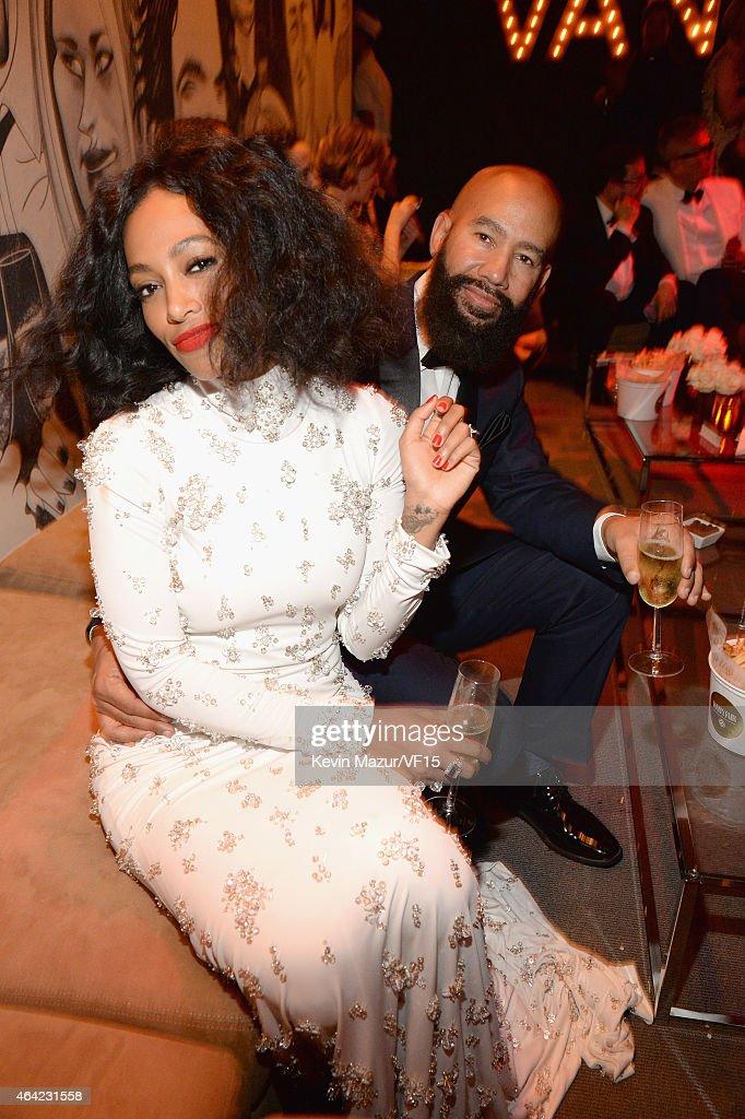 2015 Vanity Fair Oscar Party Hosted By Graydon Carter - Inside : ニュース写真