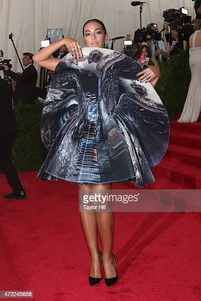Solange attends 'China Through the Looking Glass' the 2015 Costume Institute Gala at Metropolitan Museum of Art on May 4 2015 in New York City