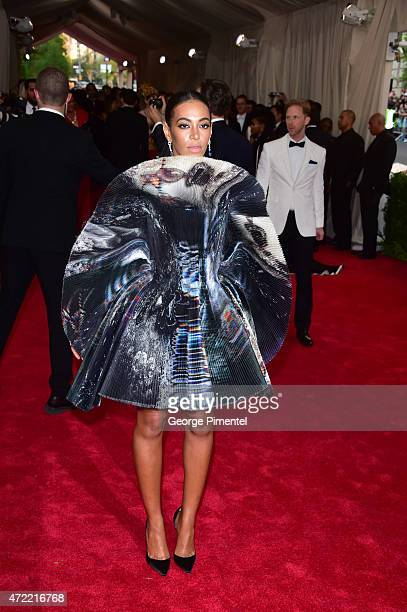 Solange attends the 'China Through The Looking Glass' Costume Institute Benefit Gala at Metropolitan Museum of Art on May 4 2015 in New York City