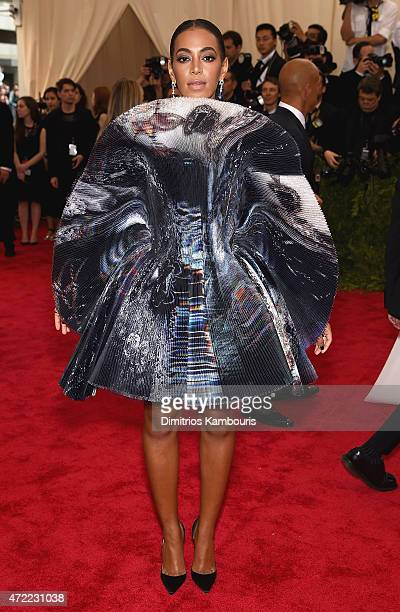 "Solange attends the ""China: Through The Looking Glass"" Costume Institute Benefit Gala at the Metropolitan Museum of Art on May 4, 2015 in New York..."
