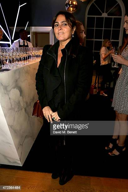 Solange AzaguryPartridge attends the launch of Les 3 Etages By Dom Perignon on May 6 2015 in London United Kingdom