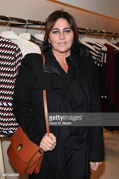Solange AzaguryPartridge attends the opening of Christopher Kane's London Flagship store on March 24 2015 in London England