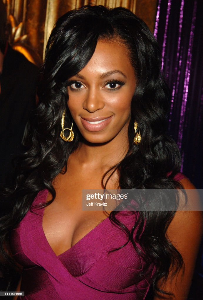 Solange during 2006 MTV Video Music Awards - Backstage at Radio City Music Hall in New York, New York, United States.