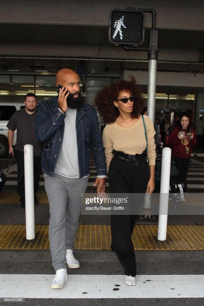 Celebrity Sightings In Los Angeles - February 09, 2017 : ニュース写真