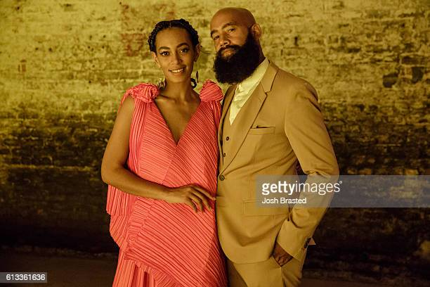 "Solange Knowles and Alan Ferguson attend ""A Seat At The Table"", a listening event for Solange's new album at Saint Heron House on October 7, 2016 in..."