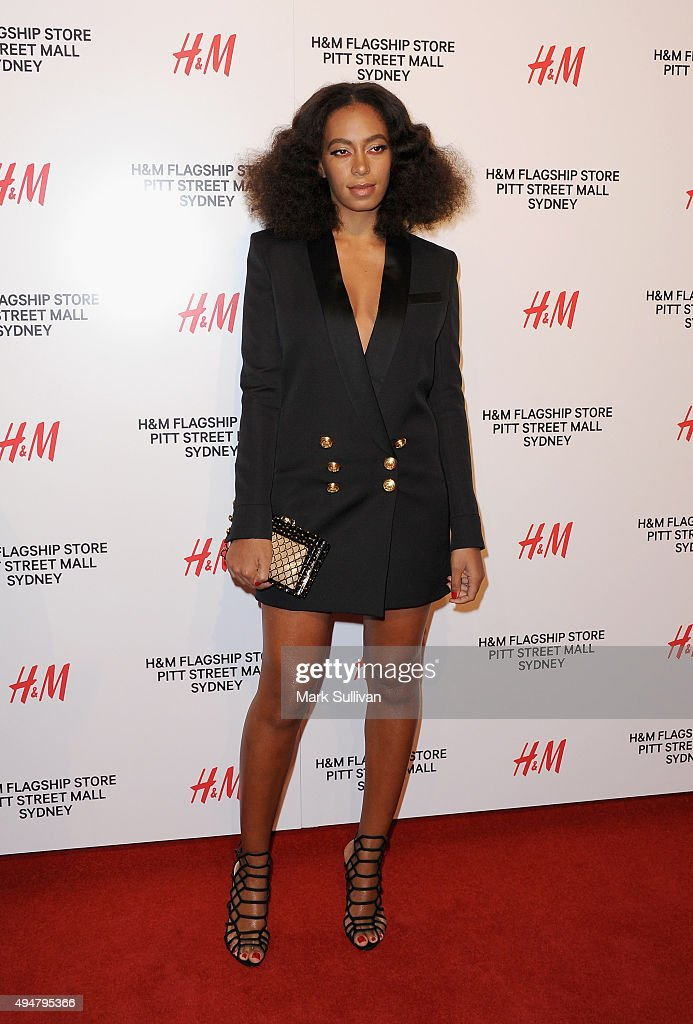 H&M Sydney Flagship Store VIP Party : News Photo