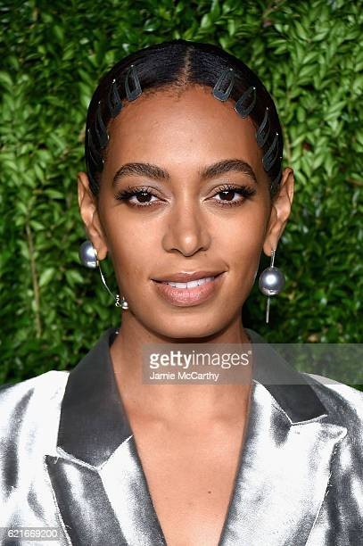 Solange Knowles attends 13th Annual CFDA/Vogue Fashion Fund Awards at Spring Studios on November 7 2016 in New York City