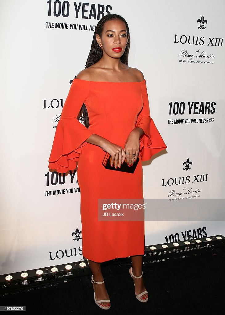 """LOUIS XIII Toasts To """"100 Years: The Movie You Will Never See"""" - Arrivals : News Photo"""