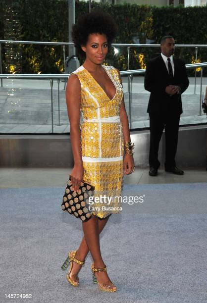 Solange Knowles attends the 2012 CFDA Fashion Awards at Alice Tully Hall on June 4 2012 in New York City