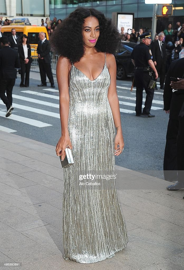 Solange Knowles attends the 2014 CFDA Fashion Awards>> at Alice Tully Hall, Lincoln Center on June 2, 2014 in New York City.
