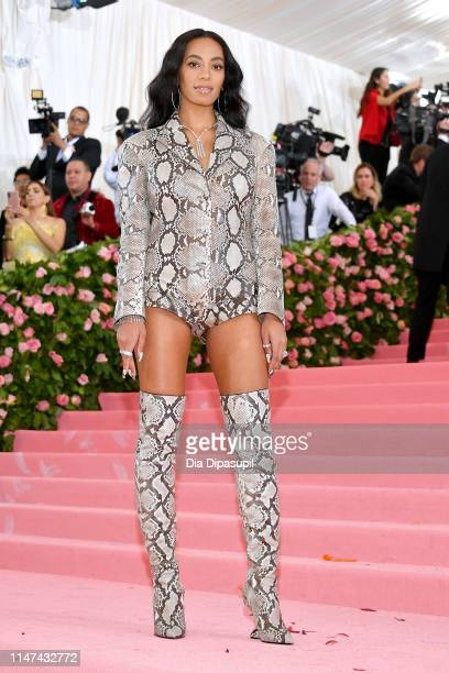 Solange Knowles attends The 2019 Met Gala Celebrating Camp: Notes on Fashion at Metropolitan Museum of Art on May 06, 2019 in New York City.