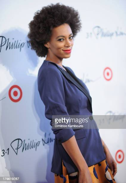 Solange Knowles attends the 3.1 Phillip Lim for Target Launch Event at Spring Studio on September 5, 2013 in New York City.