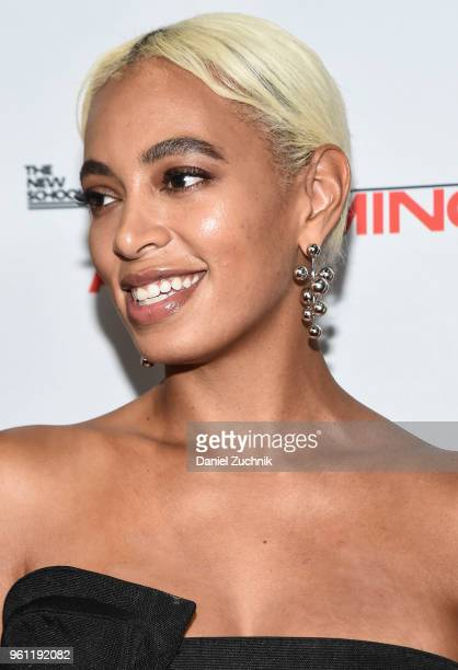 Solange Knowles attends the 70th Annual Parsons Benefit at Pier Sixty at Chelsea Piers on May 21, 2018 in New York City.