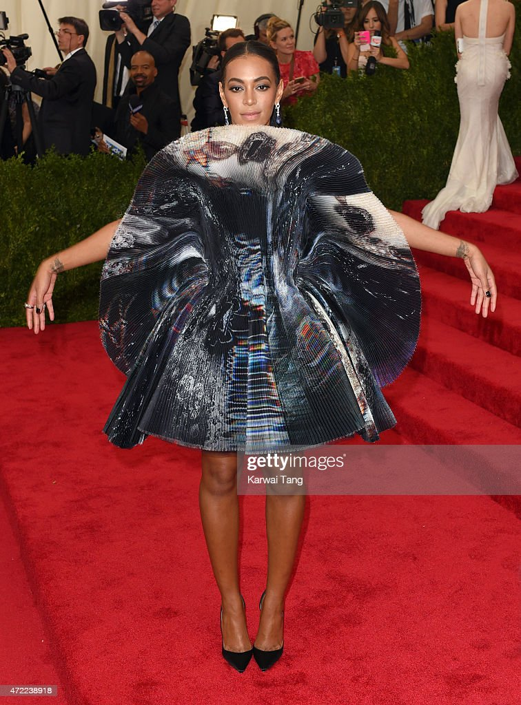 Solange Knowles attends the 'China: Through The Looking Glass' Costume Institute Benefit Gala at Metropolitan Museum of Art on May 4, 2015 in New York City.