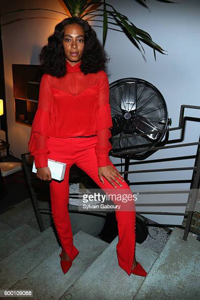 Solange Knowles attends The House of Peroni Opening Night hosted by Francesco Carrozzini on September 7 2016 in New York City