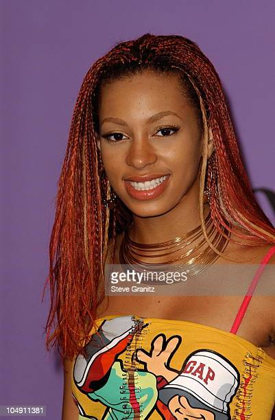Solange Knowles during The 2001 Teen Choice Awards Press Room at Universal Amphitheater in Universal City California United States